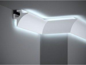 corniche lumineuse LED