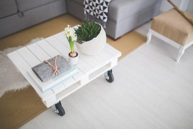 fabriquer table basse en bois