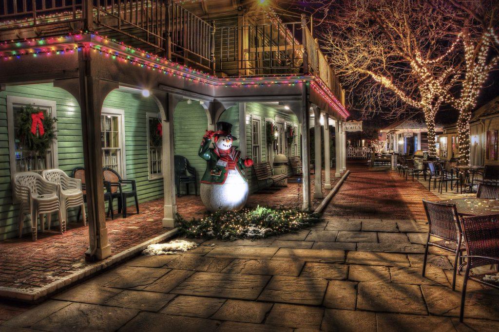 illuminations de Noël facture éléctrique